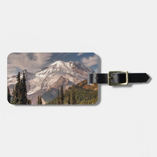 Sky Cold Peaceful Mountians Tag For Bags