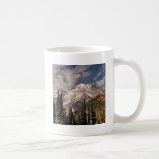Sky Cold Peaceful Mountians Coffee Mugs