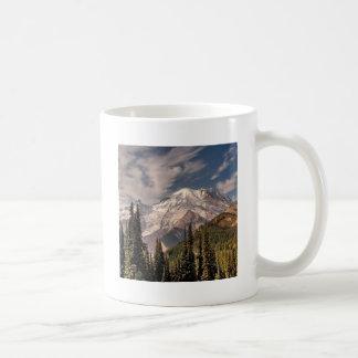 Sky Cold Peaceful Mountians Coffee Mugs