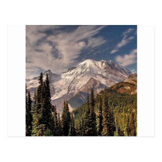 Sky Cold Peaceful Mountians Postcard