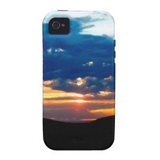 Sky Colours Reflected Above iPhone 4 Cases