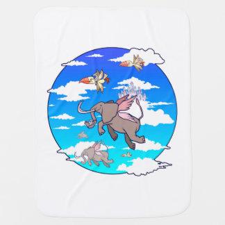 Sky Critters Baby Blanket