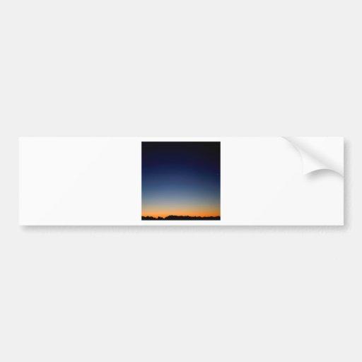 Sky Darkness Above Bumper Sticker