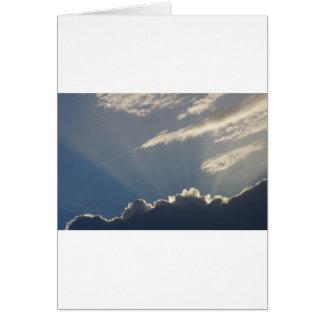 SKY DAY BREAK RURAL QUEENSLAND AUSTRALIA GREETING CARD