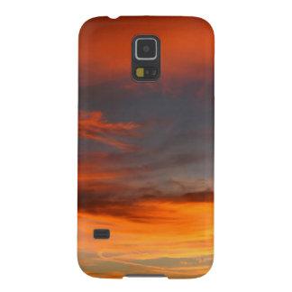 Sky Distant Orange jpg Galaxy Nexus Cases