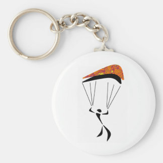 SKY DIVE CANYONS BASIC ROUND BUTTON KEY RING