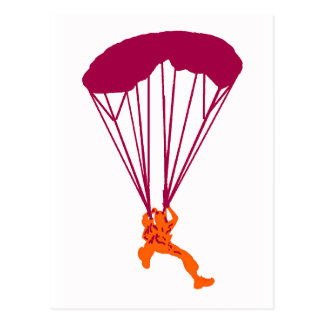 SKY DIVE EXPLORERS POSTCARD