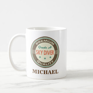 Sky Diver Personalized Office Mug Gift