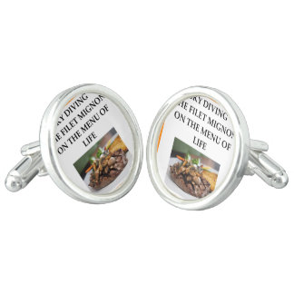 sky diving cuff links