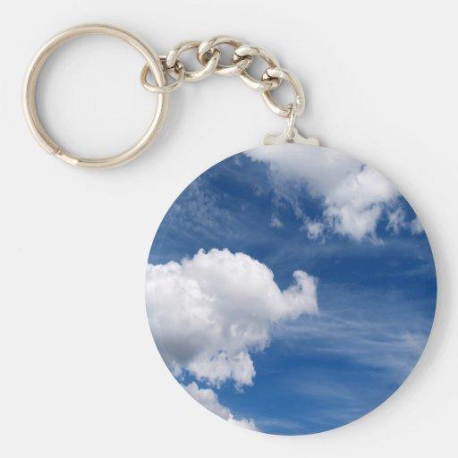 Sky Dreamful Clouds Keychain