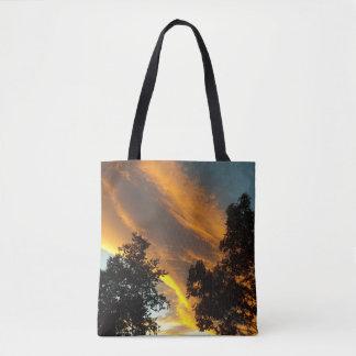 Sky Flame Tote Bag