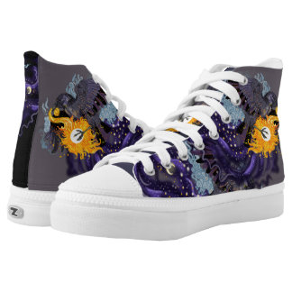 Sky Folklore Raven High Tops