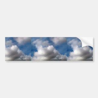 Sky Full Of Dark Clouds Bumper Sticker