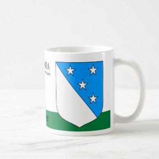 Sky full of Stars Shield from Valgamaa Estonia Coffee Mug