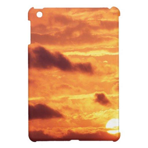Sky Golden Glow Case For The iPad Mini