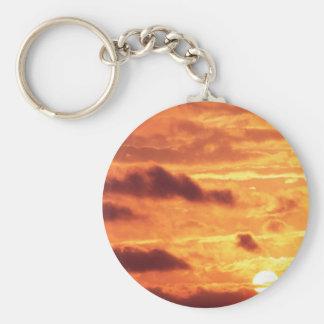 Sky Golden Glow Keychain
