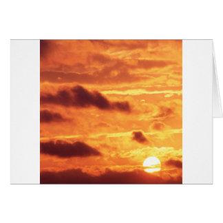 Sky Golden Glow Percy Warner Tennessee Card