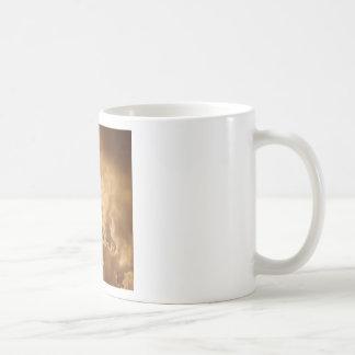Sky Golden Glow Shines Basic White Mug