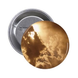 Sky Golden Glow Shines Button