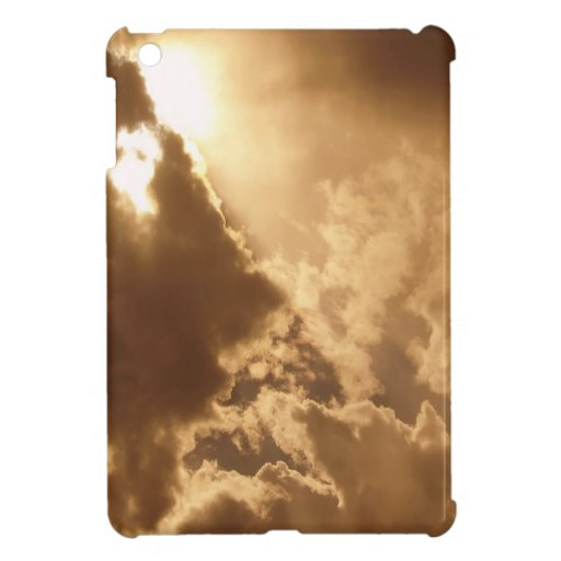 Sky Golden Glow Shines iPad Mini Cases