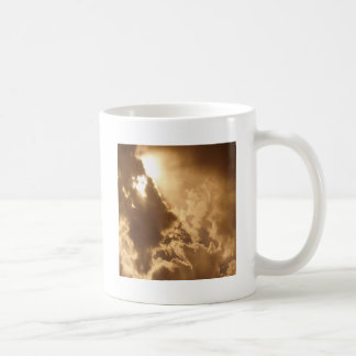 Sky Golden Glow Shines Coffee Mug