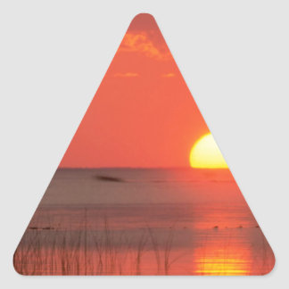 Sky Golden Moment Gulf Mexico Florida Triangle Stickers