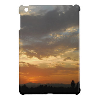 Sky Golden Sunset Cover For The iPad Mini