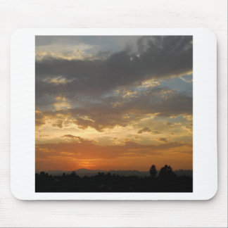 Sky Golden Sunset Mouse Pad