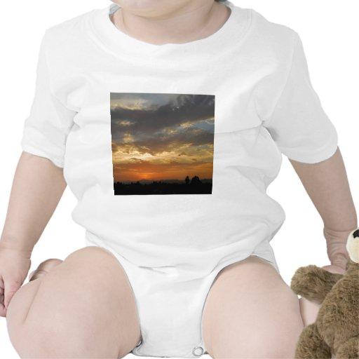 Sky Golden Sunset Shirts