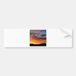 Sky Grand Finale Bumper Sticker