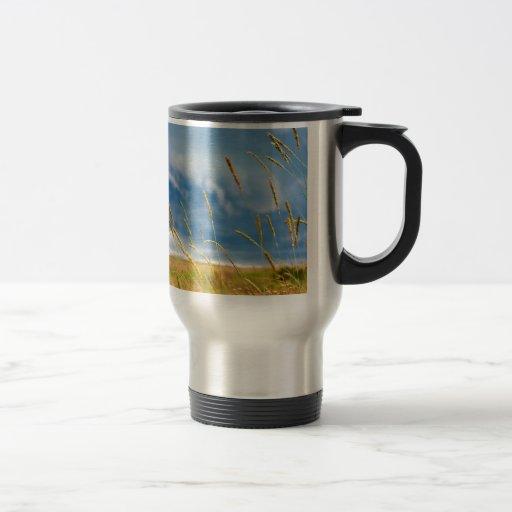 Sky Grass Rainstorm Coffee Mug