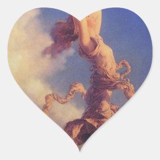 Sky Heart Sticker