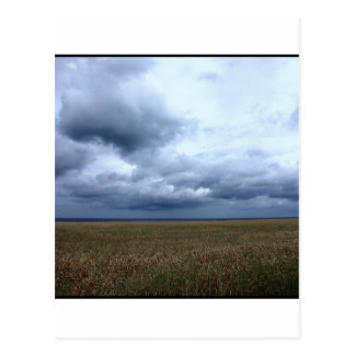 Sky Here Comes The Rain Postcard