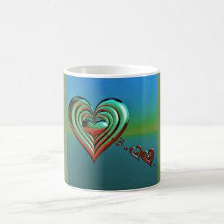 Sky High Hearts Coffee Mug