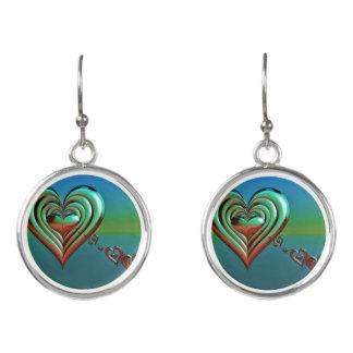 Sky High Hearts Earrings