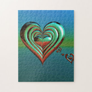 Sky High Hearts Jigsaw Puzzle