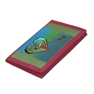 Sky High Hearts Tri-fold Wallet