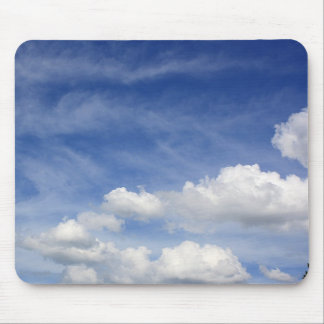 Sky in Clouds Mousepads