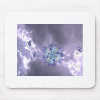 Sky in Clouds Mouse Pad