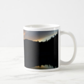 sky in the mirror coffee mug