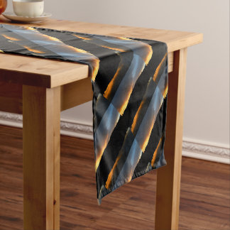 sky in the mirror short table runner