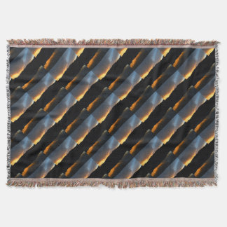 sky in the mirror throw blanket