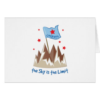 Sky Is Limit Card