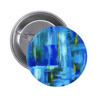 Sky Juice From Original Painting 6 Cm Round Badge