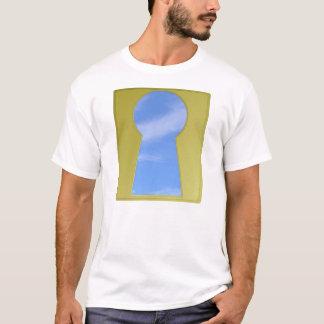 Sky Keyhole T-Shirt