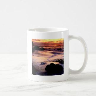Sky Lands End Beach Golden Mug