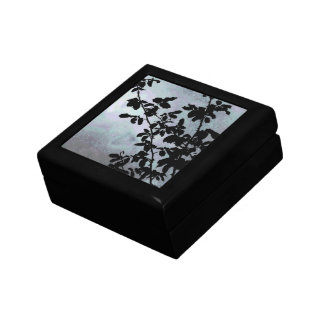 Sky Leaves Box Small Square Gift Box