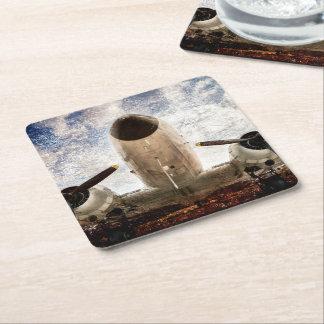 Sky Legend Square Paper Coaster