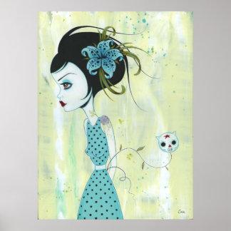 Sky Lili Canvas Print