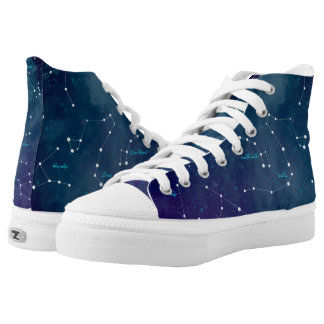 Sky Map Constellations Astronomy High Tops
